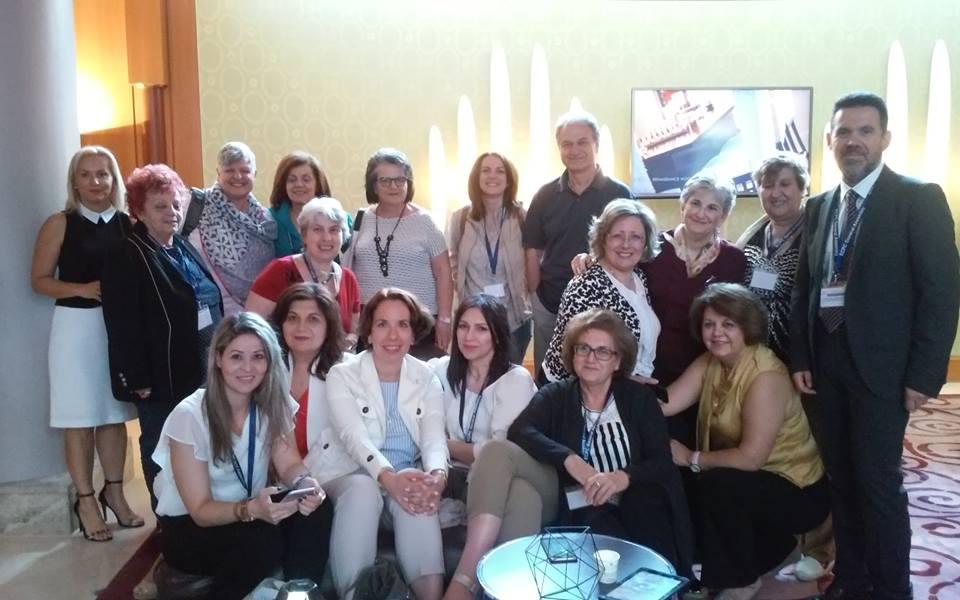 Εκπρόσωποι ελληνικών συλλόγων μελών του E.C.P.C.