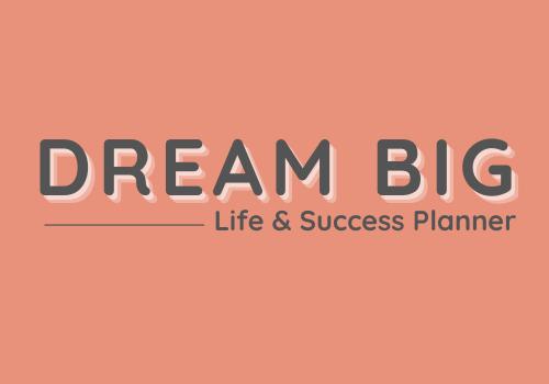 Dream Big - png